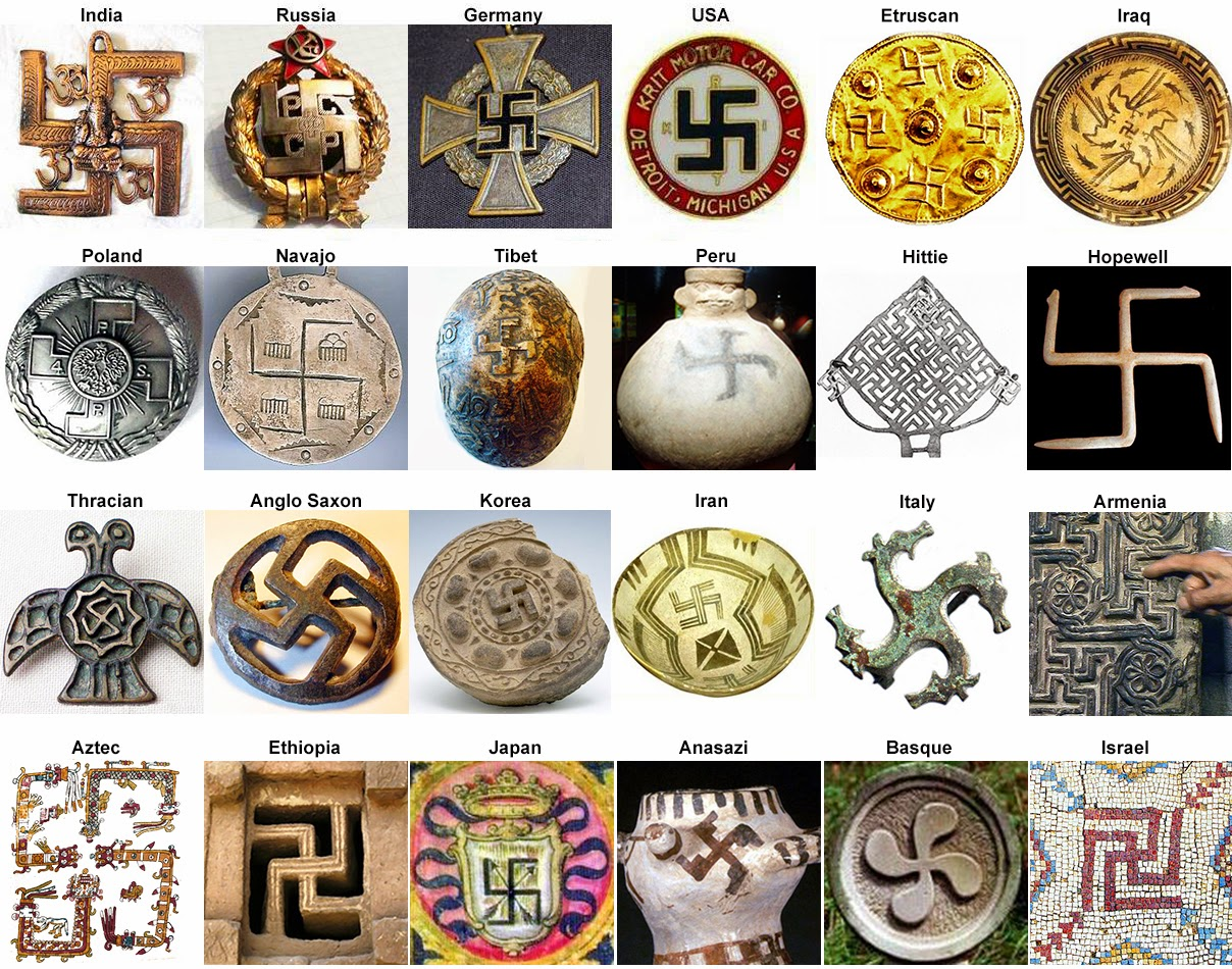 Symbols associated with the alt right nazism and white supremacy its very basic its literally a cross with all arms broken buycottarizona