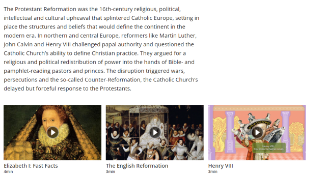 dbq protestant reformation of the sixteenth century